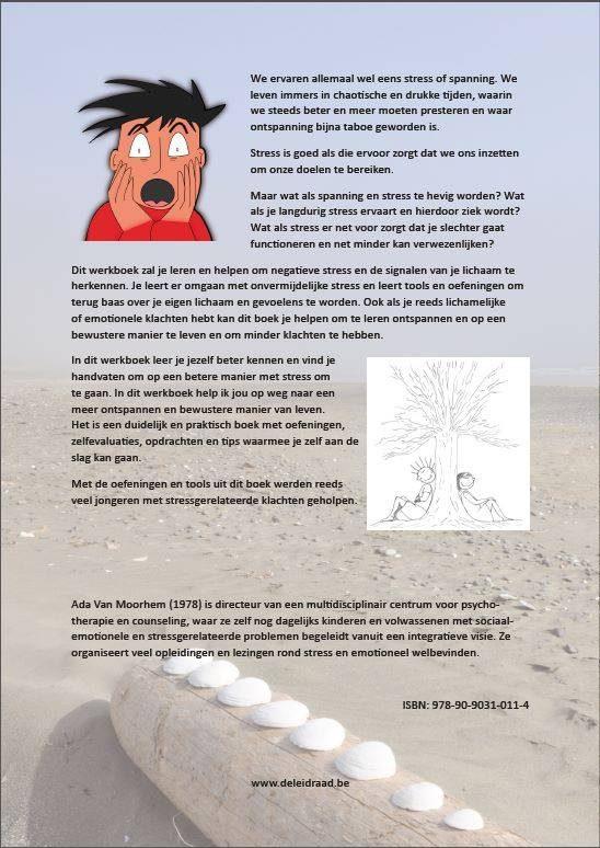 Werkboek: Chillax - Achterflap